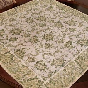 April Cornell Cottage Floral Cotton Tablecloth